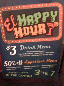 Chevys Fresh Mex - Happy Hour Menu