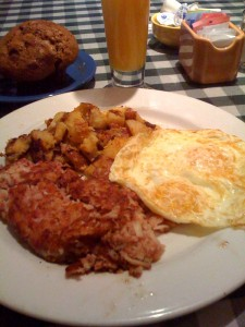 Mimi's Cafe - Corned Beef Hash & Eggs Breakfast