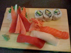 Sozo Sushi - Sashimi and California Roll