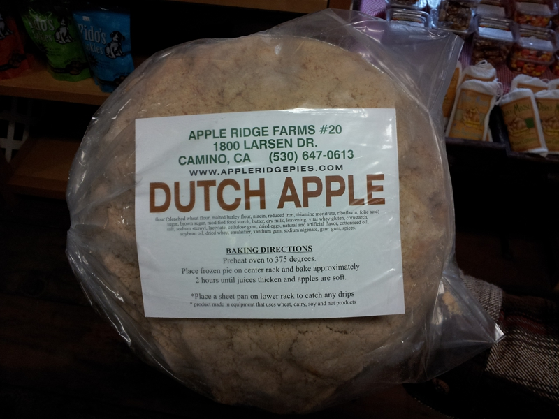 Camino, CA 95709 - Apple Ridge Farms (Apple Hill Grower No. 20) Dutch Apple Pie