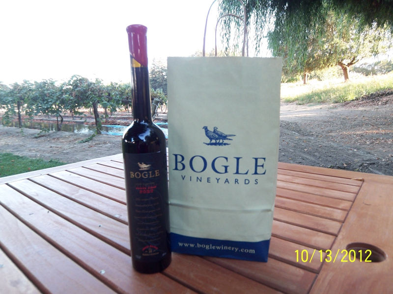 Clarksburg, CA 95612 - Bogle Vineyards (Petite Sirah Port)