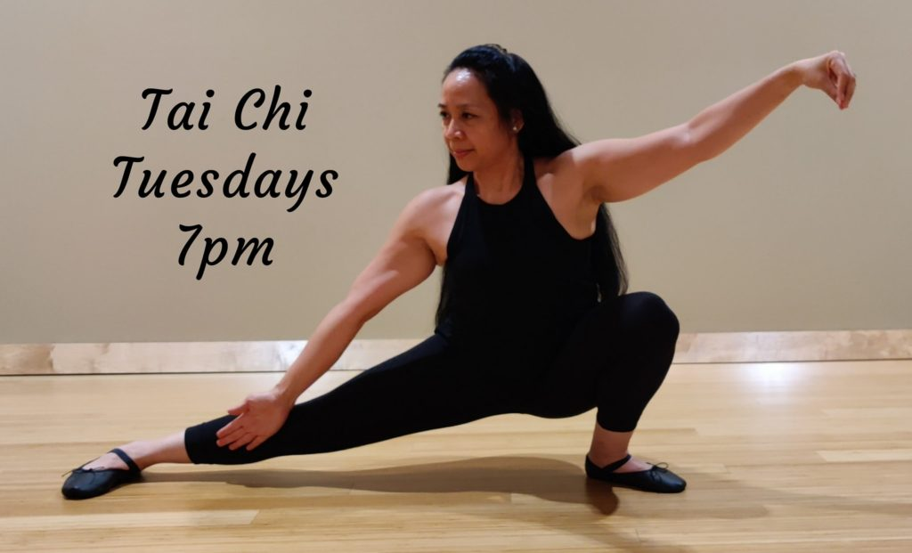 Tai Chi Tuesdays at VillaSport Athletic Club and Spa in Roseville, California!