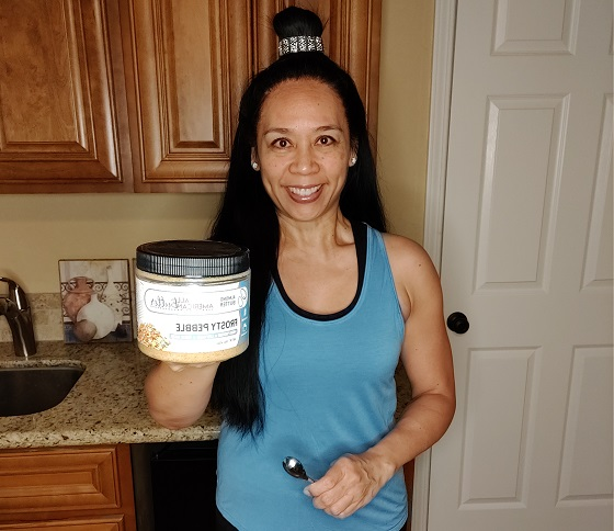 Frosty Pebble Almond Butter | American Dream Nut Butter Review